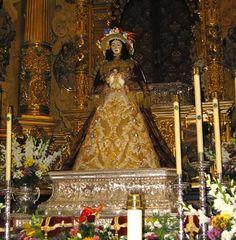 La Virgen vestida de Pastora
