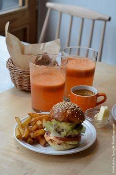 restaurant cantine california paris food truck burger