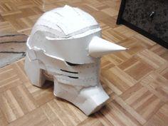 Alphonse helmet pepakura by lorduria.deviantart.com on @deviantART