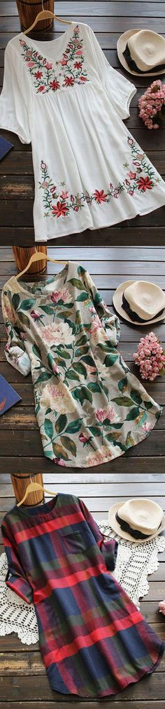 Dress for elegance with these wonderful daily prints! Start with $23.99 Only! Free shipping&easy return! Have these floral&plaid printing stuff at Cupshe.com