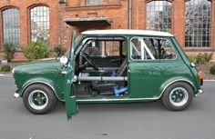 MINI Cooper S 1275, ah, I just want to get in that open door and drive the nuts off it the wee thing.