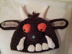 Gruffalo inspired crochet hat pattern on Craftsy.com