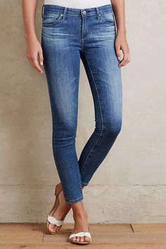Like the ankle jeans with no holes.