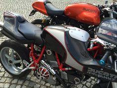 S1000 Biposto by marada customs MH900 evoluzione carbon dream