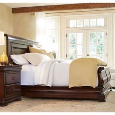 Pennsylvania House Reprise Louie Ps Sleigh Bed | from hayneedle.com