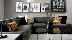 As a means of choosing your favorite small living room design. This awesome small living room design contain 19 fantastic design. Small Living Room Design, Elegant Living Room, Living Room Grey, Small Living Rooms, Living Room Modern, Living Room Interior, Home Living Room, Apartment Living, Living Room Designs