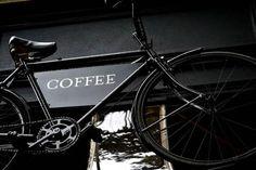 coffee on a bike