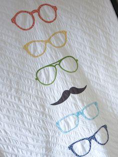 Modern Quilt Guild Riley Blake Challenge: Hipster Quilt. by studioloblog.wordpress.com