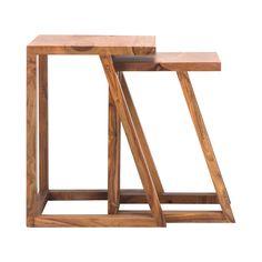 Quad Nesting Tables - Set of 2 - Dot & Bo