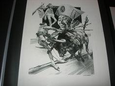 Sergio Toppi panel Comic Art