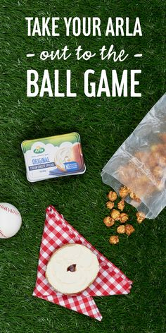 Swing for the fences with a ball game-ready snack. made with pronounceable ingredients, makes it simply better to cheer on your little slugger all summer long. Picnic Blanket, Outdoor Blanket, Cream Cheese Spreads, On The Bright Side, Few Ingredients, Snacks, Fences, Holiday Decor, Simple