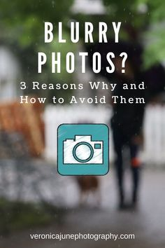 Blurry Photos are so frustrating! Here are 3 reasons why it happens and how to avoid them. Perfect tips and hints for photographers, even if you have a good camera, dslr, or mirrorless. Photography Basics, Photography Business, Landscape Photography, Portrait Photography, Travel Photography, Learn Photography, Photography Composition, Phone Photography, Digital Photography