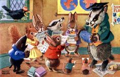 Angus Clifford Racey Helps was an English children's author and illustrator. His books were written in a simple style and featured woodland creatures and birds, with illustrations by the author.