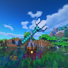 Trident coffee shop Plans Minecraft, Minecraft Building Guide, Images Minecraft, Minecraft Mansion, Minecraft Houses Survival, Minecraft Castle, Minecraft Medieval, Cute Minecraft Houses, Minecraft Room