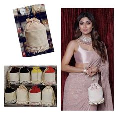 Long Potli Trend inspired by Shilpa Shetty. your pearl work potli with you and read for wedding seasons😍 Myanmar Dress Design, Potli Bags, Kurta Neck Design, Diy Bags Purses, Beaded Bags, Designer Dresses, Celebrity Style, Fashion Accessories, Bridesmaid Dresses
