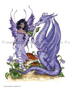 Fairy Art Artist Amy Brown: The Official Online Gallery. Fantasy Art, Faery Art, Dragons, and Magical Things Await. Magical Creatures, Fantasy Creatures, Fantasy Dragon, Fantasy Art, Elves Fantasy, Amy Brown Fairies, Dark Fairies, Dragons, Kobold