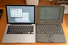 Macbook Pro Retina & Powerbook 100
