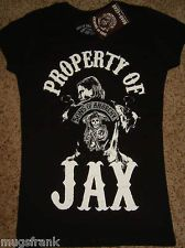 Sons of Anarchy SOA Tv Show Property Of Jax Junior T-Shirt