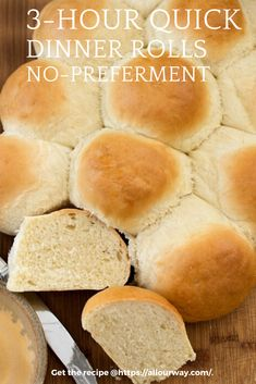 Yeast dinner rolls that are easy and quick to make. The finished rolls are feathery light with a delicious taste and fluffy texture. Use them at your special dinners, as sandwich buns or for your slider buns. They're versatile and hold up well with fillings. #dinnerrolls, #easydinnerrolls, #yeastrolls, #quickdinnerrolls, #softdinnerrolls, #fluffydinnerrolls Quick Dinner Rolls, No Yeast Dinner Rolls, Fluffy Dinner Rolls, Yeast Rolls, Bread Rolls, Best Bread Recipe, Bread Recipes, Savoury Recipes
