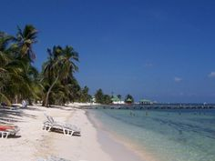 San Pedro island, Belize. During the rainy season last year, Brian and I took the boat out to the cayes and rented a small apartment above a booking office. Some of my favorite snorkeling!