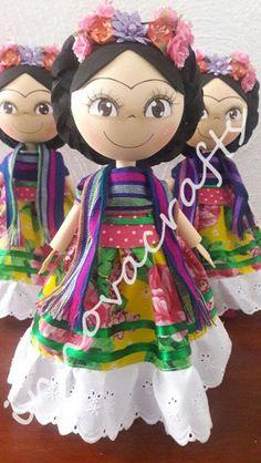 Fofuchas Frida Kahlo