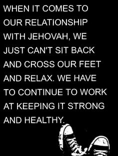Jehovah's relationship is  Most important!!! He made us.  But others need to be treated This way also. Jesus learned From Jehovah!!! Let's treat Husbands,wife,sons,daughter, Spiritual and blood relationships!!!