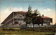 postcard dated 1910;Adobe Fort Petaluma california