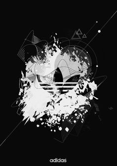 "ADIDAS ®‎ ""Black // White"" on Behance"