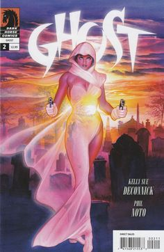 Ghost # 2 Dark Horse Comics Vol 3 ( 2012 ) Variant Cover