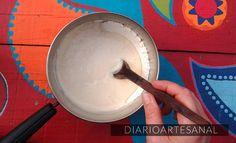 Pegamento casero para papel 2 Decoupage, Ice Cream, Ethnic Recipes, Desserts, Diy, Crafts, Food, Ideas Para, Angeles