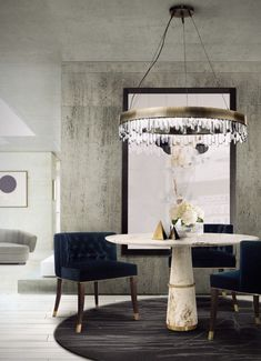 10 Modern Dining Room Chairs That You'll Covet Modern Dining Chairs, Modern Table, Dining Room Chairs, Dining Tables, Dining Rooms, Round Dining, Round Tables, Pedestal Tables, Dining Sets