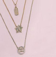 Mini Mini Jewels 14k Gold Blue Topaz December Birthstone Accented Letter K Dog-tag Necklace Pendant