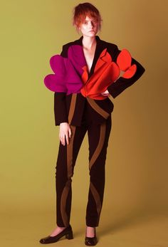 SELF MADE MAGAZINE #1 Clothes by LARA QUINT from FW'15 Collection  Photographer - Tanya Olifirenko Stylist - Ju Li MUA - Yevgeniya Kozlova  Model - Katya Lugovaya  #laraquint #selfmademagazine #fashioneditorial #editorial #magazine #fashionmagazine #suit #tulip #flowers #wool #art #ukrainiandesigner #ukrainianfashion #ukraine