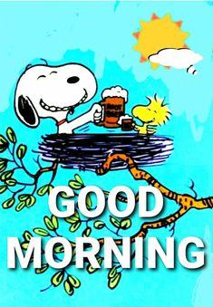 Good Morning Gif Disney, Good Morning Cartoon, Good Morning Snoopy, Good Morning Funny, Good Morning Greetings, Good Morning Good Night, Good Morning Images, Good Morning Quotes, Snoopy Images