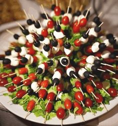 Easy finger food.                                                                                                                                                                                 More