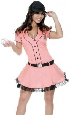 like dressing up in a sexy baseball girls halloween costume well start shopping for - Baseball Halloween Costume For Girls
