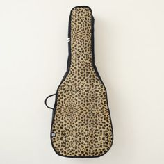 Cheetah Print Guitar Case - home gifts ideas decor special unique custom individual customized individualized
