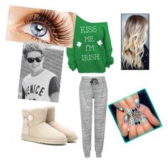 """sleep over with Niall"" by calimybae ❤ liked on Polyvore featuring interior, interiors, interior design, maison, home decor, interior decorating, Topshop et UGG Australia"