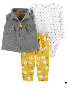 Shop a great selection of Carter's Baby Girls' Vest Sets. Find new offer and Similar products for Carter's Baby Girls' Vest Sets. Baby Outfits, Newborn Outfits, Kids Outfits, Newborn Clothing, Girl Clothing, Fashion Clothes, Spring Outfits, Fashion Purses, Fashion Tights