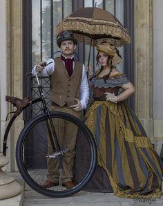 Vany Miranda dress I Feria Steampunk de Barcelona Foto: Albert Martin