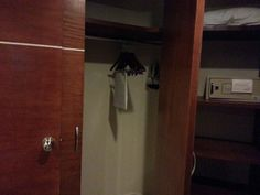 Closet space and safe