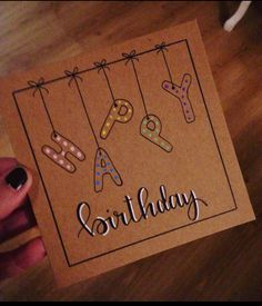 Birthday Birthday The post Birthday appeared first on Kindergeburtstag ideen. Birthday Birthday The post Birthday appeared first on Kindergeburtstag ideen. Creative Birthday Cards, Birthday Cards For Friends, Bday Cards, Birthday Diy, Handmade Birthday Cards, Happy Birthday Cards, Creative Cards, Birthday Ideas, Card Birthday