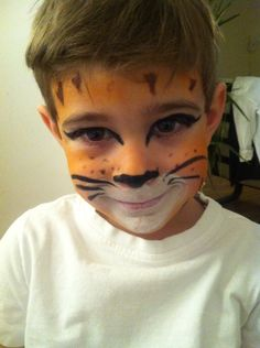 cat costume - puss in boots - carnival and halloween costume and makeup ideas for boys