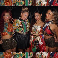 tokyomskicks girls take group photos wit my girls! やっと4人で撮れたよっ Dancer@nightnursejapan StylistMe @tokyo_ms_kicks Singer@marin_singer Dancer@chikaqb #diy #fendi #scarf #pins #dress #imadethis #imadeit #scarfdress #90s #バブリー #concert #stagedress #japanesegirl #japanese #nomine #vintage #versace #motel #motelrock #instafashion #instastyle #tokyo #japan #tokyomskicks - @tokyo_ms_kicks- #webstagram