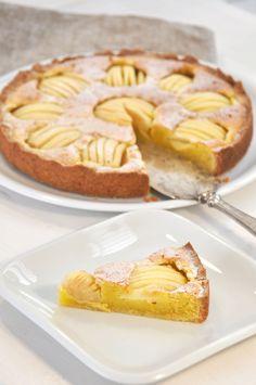 Apfelkuchen aus Hamburg mit Marzipan einfach zu machen und super lecker