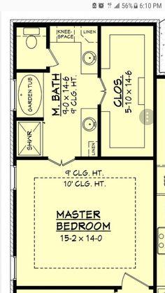 Best 14X16 Master Bedroom Floor Plan With Bath And Walk In 640 x 480
