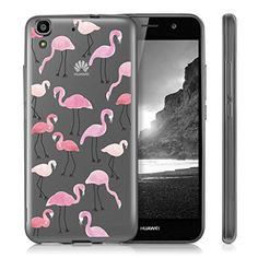 """cool Huawei Y6 II Case , ivencase Ultra Slim Crystal Clear Soft Silicone Back Cover for Huawei Y6 II 5.5"""""""
