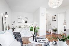 Amenajare scandinavă într-o garsonieră de 39 m²   Jurnal de design interior