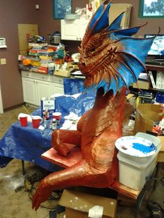 How to make a Dragon - by Villainous Lair Gaming in San Diego CA