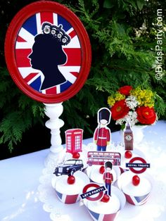 Bird's Party Blog: Rule Britannia: A British Inspired Street Party to Celebrate the Queen's Diamond Jubilee!